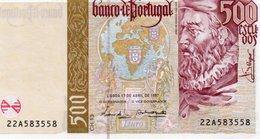 PORTOGALLO 500 ESCUDOS 1997 P-187a1  UNC - Portogallo
