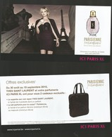1 Flyer YSL - Perfume Cards