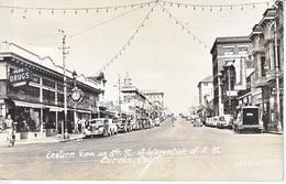 U.S.  REAL  PHOTO  5th. STREET, EUREKA,  CALIF.  1945  MAILED  TO  FLEET  P.O. - United States
