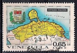 Venezuela 1971 -  Airmail - States Of Venezuela - Maps And Arms Of The Various States - Venezuela