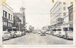 U.S.  REAL  PHOTO  BELLINGHAM, WASH.   CALIF.  1947  MAILED  TO  MONTANA - United States