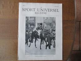 LE SPORT UNIVERSEL ILLUSTRE N°272 5 OCTOBRE 1901 LE CHEVAL A L'INSTITUT SEROTHERAPIQUE DE GARCHES,AUTOMOBILE EN AMERIQUE - Books, Magazines, Comics