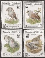 NOUVELLE CALÉDONIE / CALEDONIA 1998 Y&T 768 à 771 Neufs**  Le Kagou Huppé Ou Cagou / WWF - Ongebruikt