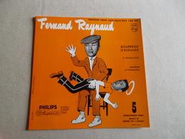POCHETTE  DE PRESENTATION VINYLE 45 T FERNAND RAYNAUD  BOURREAU D'ENFANTS - Accessories & Sleeves