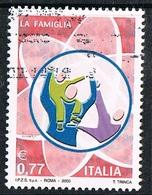 2003 - ITALIA / ITALY - LE ISTITUZIONI - LA FAMIGLIA / INSTITUTIONS - THE FAMILY. USATO - 6. 1946-.. Repubblica