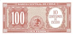 CHILE P. 127a 10 C 1960 UNC - Chili