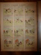 """1891  Image Pellerin & Cie  """"Aux Armes D'Epinal"""" ---> CHASSE GARDÉE     (Histoires & Scènes Humoristiques) - Collections"""