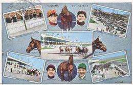 TIJUANA,  MEXICO  HORSE  RACES &  JOCKEYS   1930 - Mexico