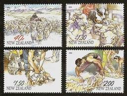 NEW ZEALAND 2003 - ZODIAC / CHINESE NEW YEAR / Year Of The Sheep - 4v Mi 2055-2058 MNH ** Cv€6,30 K749 - Unused Stamps
