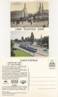 44 NANTES CARTES EDITEE A L OCCASION DU SALON DE LA CARTE A LA BEAUJOIRE NOVEMBRE 2000 CPN 322 USINE LU LA DUCHESSE ANNE - Nantes