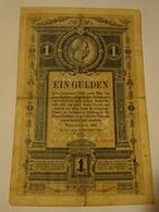 Austria Hungary 1 Gulden 1882 - Austria