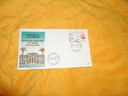 ENVELOPPE FDC DE 1981. / REPUBLIC OF CYPRUS. EUROPEAN CAMPAIGN FOR URBAN RENAISSANCE. / CACHETS + TIMBRE CHYPRE - Cyprus (Republic)