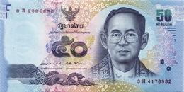 THAILAND 50 บาท (BAHT) ND (2016) P-119a UNC SIGN. 87 [TH182a] - Thailand