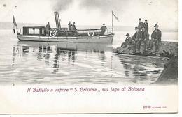 Italie     Bolsena       Batello A Vapore - Italie