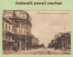 FIUME RIJEKA - PIAZZA GIUSEPPE VERDI - CARTOLINA - LT60-019 - Croatia
