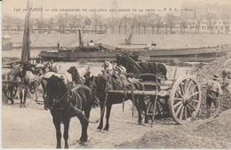"""75 ( Les Chargeurs De Cailloux Aux Bords De Seine ."""" )° - Petits Métiers à Paris"""