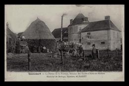 LIANCOURT (60) - La Ferme De La Faiencerie-Berceau Des Ecoles D'Arts Et Métiers-Matériel De Battage,Système ALBARET - Liancourt