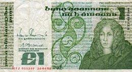 IRELAND-IRLANDA 1 POUND 1988 P-70d2 - Irlanda-Nord