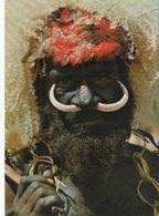 PAPUA NEW GUINEA - Eastern Highland Warrior - Goroka Show - Papua New Guinea