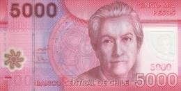 CHILE P. 163b 5000 P 2011 UNC - Chile