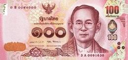 THAILAND 100 บาท (BAHT) ND (2016) P-120a UNC SIGN. 87 [TH183c] - Thailand