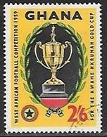 1959 Football, 2sh6d, Used - Ghana (1957-...)