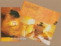 CC Carte Parfumée 'HERMES 24 FAUBOURG' Perfume Card 15x9 Cm - Perfume Cards