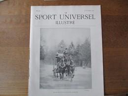 LE SPORT UNIVERSEL ILLUSTRE N°278 16 NOVEMBRE 1901 LE CHIEN DES ESQUIMAUX,EXPOSITION FELINE,L'AUTOMOBILE EN AMERIQUE,COU - Books, Magazines, Comics