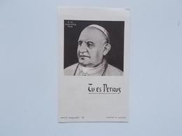 Bidprintje: Souvenir De L'élection Et Couronnement Du PAPE JEAN XXIII, Angelo RONCALLI 25/10 Et 4/11 -1958 - Faire-part