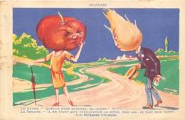 LA POTASSE D'ALSACE  JALOUSIE  ILLUSTRATEUR - Advertising