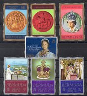 BERMUDES  Timbres Neufs ** De 1977/8   ( Ref 2488  ) Famille Royale - Bermudes