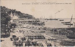 CPA Martinique - Saint-Pierre - La Place Bertin Avant La Catastrophe Du 8 Mai 1902 - Martinique