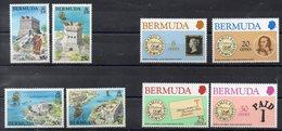 BERMUDES  Timbres Neufs ** De 1980-1982   ( Ref 2488B  ) 2 Séries - Bermudes