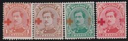 Belgie   .    OBP     .     150/153      .      *     .    Ongebruikt Met Charnier  .  /   .  Neuf Avec Charniere - 1918 Croix-Rouge