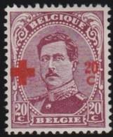 Belgie   .    OBP     .     155      .      *     .    Ongebruikt Met Charnier  .  /   .  Neuf Avec Charniere - 1918 Croix-Rouge