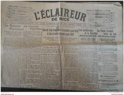1919 Journal L'ECLAIREUR DE NICE Du 28 Décembre - Newspapers