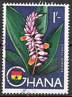 1959 1sh Ginger, Used - Ghana (1957-...)