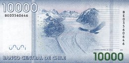 CHILE P. 164b 10000 P 2011 UNC - Chili