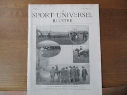 LE SPORT UNIVERSEL ILLUSTRE N°280 30 NOVEMBRE 1901DOMAINE D'AUSSILLON,BEDLINGTON TERRIER,LES SPORTSMEN CHEZ EUX - Books, Magazines, Comics