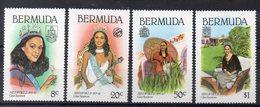 BERMUDES  Timbres Neufs ** De 1980   ( Ref 2488 C  ) Election De Miss Monde - Bermudes