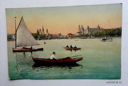 CPA  Suisse - Barques Sur Un Lac - GENEVE ? - Postcards