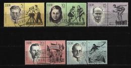 DDR - Mi-Nr. 983 - 987 Mit Zierfeld Gestempelt - [6] République Démocratique