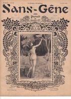 Revue  Sans-Gêne   2ème Année  Numéro 73   19 Juillet 1902 - Books, Magazines, Comics