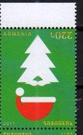 ARMENIA, 2017, MNH, CHRISTMAS, 1v - Christmas