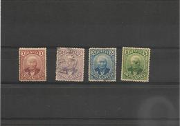 HAITI Année 1887  N°Y/T : 16/18 Oblitérés - Haiti