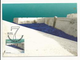 Maximum Card * Portugal * 2007 Lisboa * 7 Maravilhas De Portugal * Fortaleza De Sagres, Vila Do Bispo - Maximum Cards & Covers