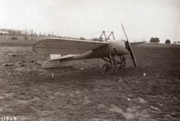 Aviation Bleriot 39 XXXIX Prototype Monoplane Blindé Gnome Engine Old Photo 1913 - Aviación