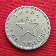 Ghana 1 One Shilling 1958 KM# 5 Gana - Ghana