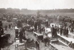 France Vincennes Revue Du 14 Juillet Les Spectateurs Ancienne Photo Rol 1920 - War, Military