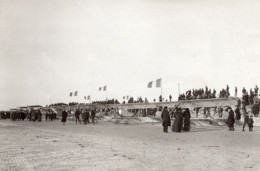 France Le Crotoy Inauguration De L'Ecole Caudron Avions Ancienne Photo Rol 1913 - Aviation